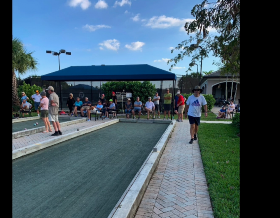 Bocce Ball Club Of Valencia Cove